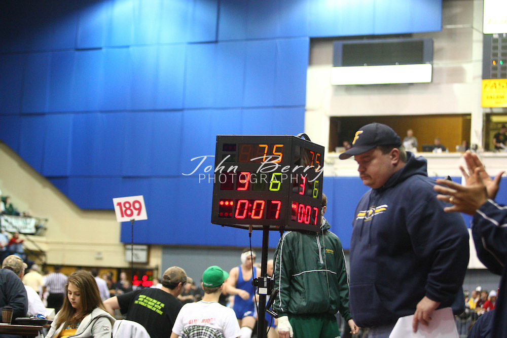 MCHS Wrestling.State Championships.Opening Rounds.March 7, 2008
