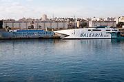 Port of Ceuta, Spanish territory in north Africa, Spain