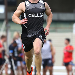 DURBAN, SOUTH AFRICA Monday 29th June 2015 - Michael Claassens during the Cell C Sharks Conditioning training session at Growthpoint Kings Par in Durban, South Africa. (Photo by Steve Haag)