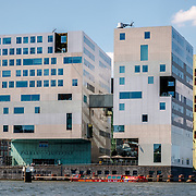 NLD/Amsterdam/20180628 - Rondvaart Amsterdam, gerechtsgebbouw