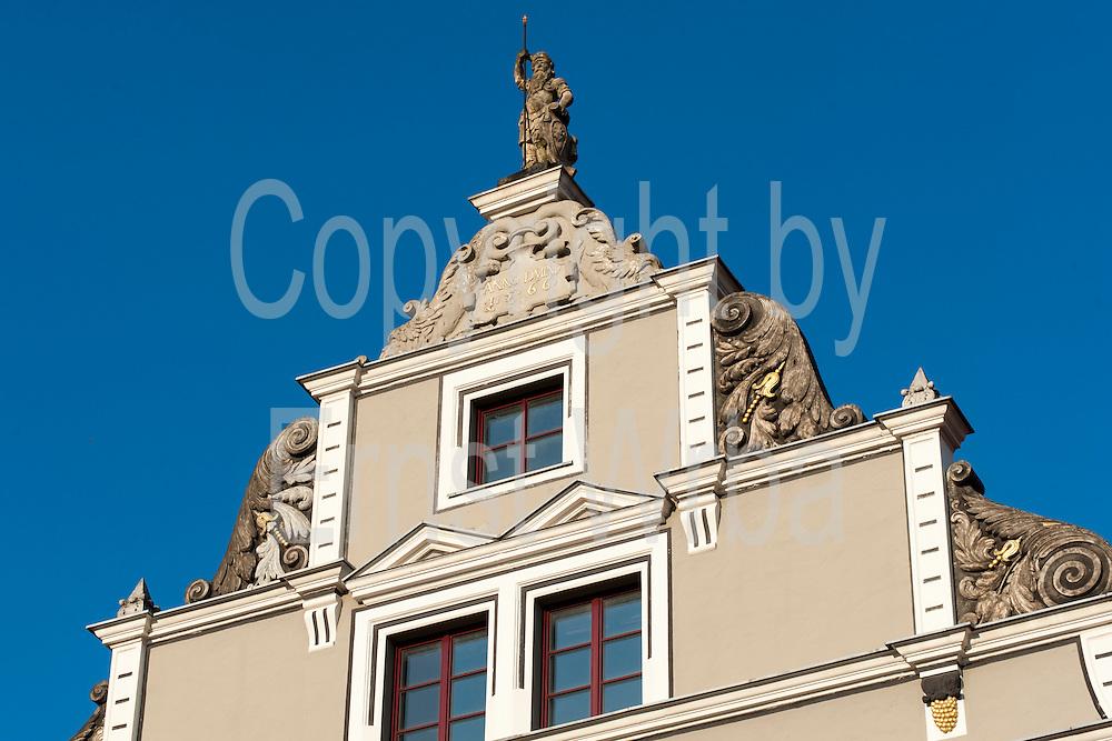 Renaissance Deutschritter-Haus am Herderplatz, Weimar, Thüringen, Deutschland | renaissance house on Herderplatz, Weimar, Thuringia, Germany