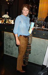 AMBER NUTTALL at the 1st Baglioni Hotel's Designer Lunch featuring designs by Amanda Wakelel held at The Baglioni Hotel, 60 Hyde Park gate, London on 1st February 2006.<br />
