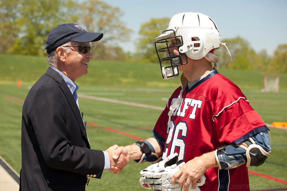 Taft School-May 17, 2014- Alumni Weekend- Alumni Lacrosse. (Photo by Robert Falcetti)