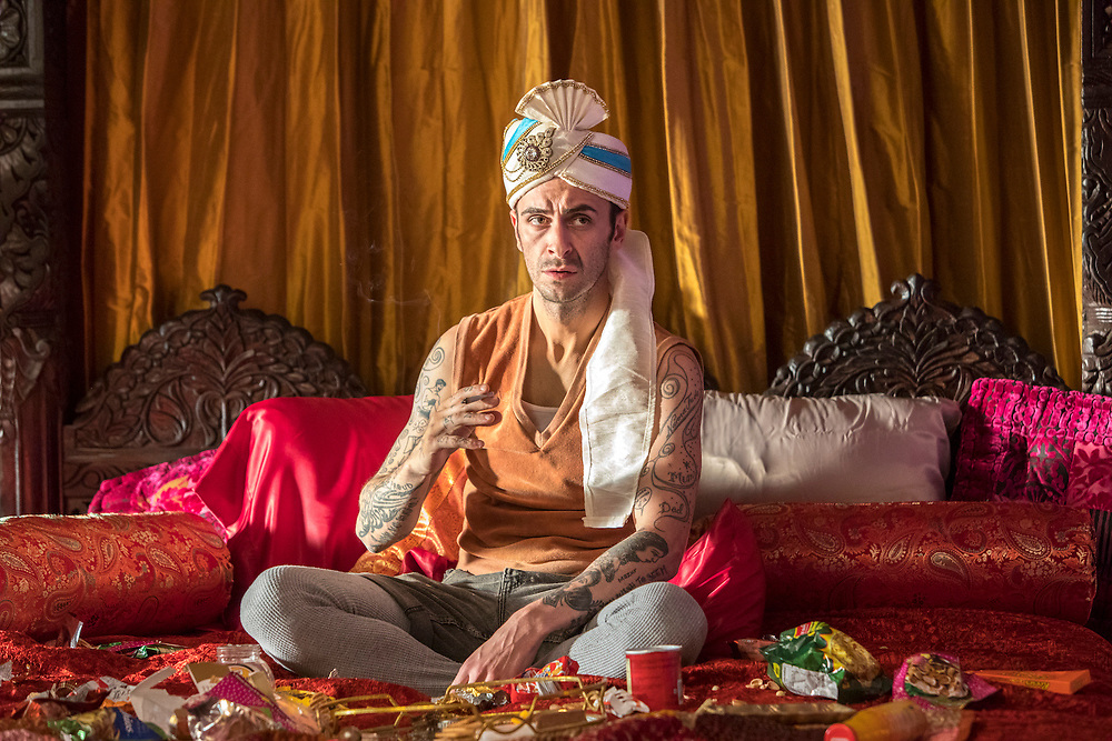 Joseph Gilgun as Cassidy in Preacher, Season 2, Episode 2 - Photo Credit: Skip Bolen/AMC/Sony Pictures Television