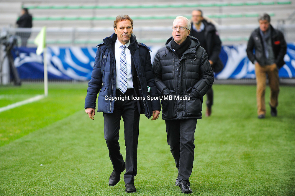 Roland ROMEYER / Jacques ROUSSELOT  - 04.01.2015 - Saint Etienne / Nancy - Coupe de France<br /> Photo : Jean Paul Thomas / Icon Sport