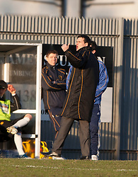 Dumbarton's player-manager Ian Murray..Dumbarton 0 v 2 Falkirk, 23/2/2013..©Michael Schofield.