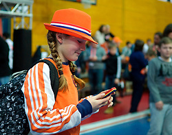 LEIZPIG - WC HOCKEY INDOOR 2015<br /> NED v POL (Pool B)<br /> Foto: Fan of the Netherlands<br /> FFU PRESS AGENCY COPYRIGHT SANDER UIJLENBROEK
