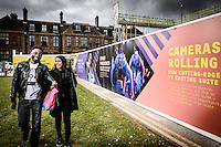 University of Hull, Kingston Upon Hull, East Yorkshire, United Kingdom, 19 October, 2015. Pictured: City of Culture hording
