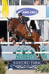 Everse Mischa, (NED), Dutch Blue<br /> Final 7 years old horses<br /> FEI World Breeding Jumping Championship <br /> Lanaken - Zangersheide 2015<br /> © Hippo Foto - Dirk Caremans<br /> 20/09/15