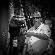 New York. memorial day parade in Bay ridge , Brooklyn