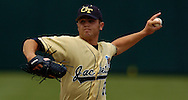 06/16/2006 Georgia Tech's Lee Hyde. Game one of the College World Series in Omaha, Ne.(photo by chris machian/Prarie PIxel Group)
