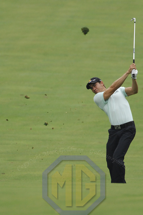 05 July 2007:  Camilo Villegas in the first round of the inaugural AT&T National PGA event at Congressional Country Club in Bethesda, Md. The proceeds of the golf tournament will benefit the Tiger Woods Foundation and local charities.   ****For Editorial Use Only