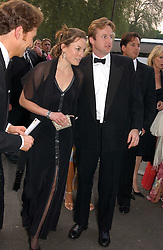 JESSICA CRAIG and HUGH CROSSLEY at the NSPCC's Dream Auction held at The Royal Albert Hall, London on 9th May 2006.<br />