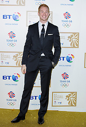 Greg Rutherford during the BT Olympic Ball, held at the Grosvenor Hotel, London, UK, November 30, 2012. Photo By Anthony Upton / i-Images.