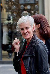 Judy Murray arriving at the launch party of the new Ivy restaurant in Buchanan St, Glasgow. Pic copyright Terry Murden @edinburghelitemedia