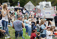 Salisbury Mills, New York - People watch fire departments and bands march down Route 94 during the Orange County Volunteer Firemen's Association (OCVFA) annual parade on Sept. 24, 2011.