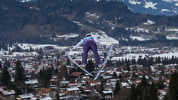 30.01.2016, Normal Hill Indiviual, Oberstdorf, GER, FIS Weltcup Ski Sprung Ladis, Bewerb, im Bild Evelyn Insam (ITA) // Evelyn Insam og Italy during her Competition Jump of FIS Ski Jumping World Cup Ladis at the Normal Hill Indiviual, Oberstdorf, Germany on 2016/01/30. EXPA Pictures © 2016, PhotoCredit: EXPA/ Peter Rinderer