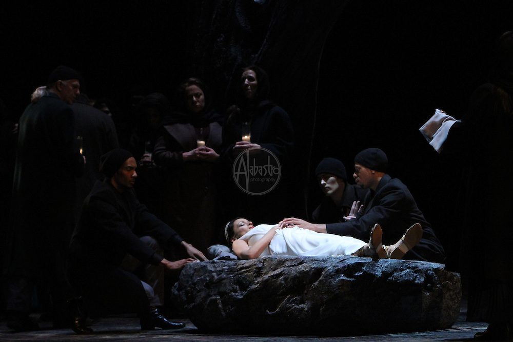 "Seattle Opera's production of ""Orpheus an Eurydice"" on February 2012."