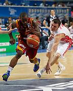 DESCRIZIONE : Vilnius Lithuania Lituania Eurobasket Men 2011 Second Round Russia Macedonia Russia FYR of Macedonia<br /> GIOCATORE : Bo Mc Calebb<br /> CATEGORIA : palleggio<br /> SQUADRA : Macedonia FYR of Macedonia<br /> EVENTO : Eurobasket Men 2011<br /> GARA : Russia Macedonia Russia FYR of Macedonia<br /> DATA : 12/09/2011<br /> SPORT : Pallacanestro <br /> AUTORE : Agenzia Ciamillo-Castoria/M.Metlas<br /> Galleria : Eurobasket Men 2011<br /> Fotonotizia : Vilnius Lithuania Lituania Eurobasket Men 2011 Second Round Russia Macedonia Russia FYR of Macedonia<br /> Predefinita :
