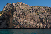 Morro de Toix cliffs near Mascarat area, Altea village, Costa Blanca, Alicante province, Spain