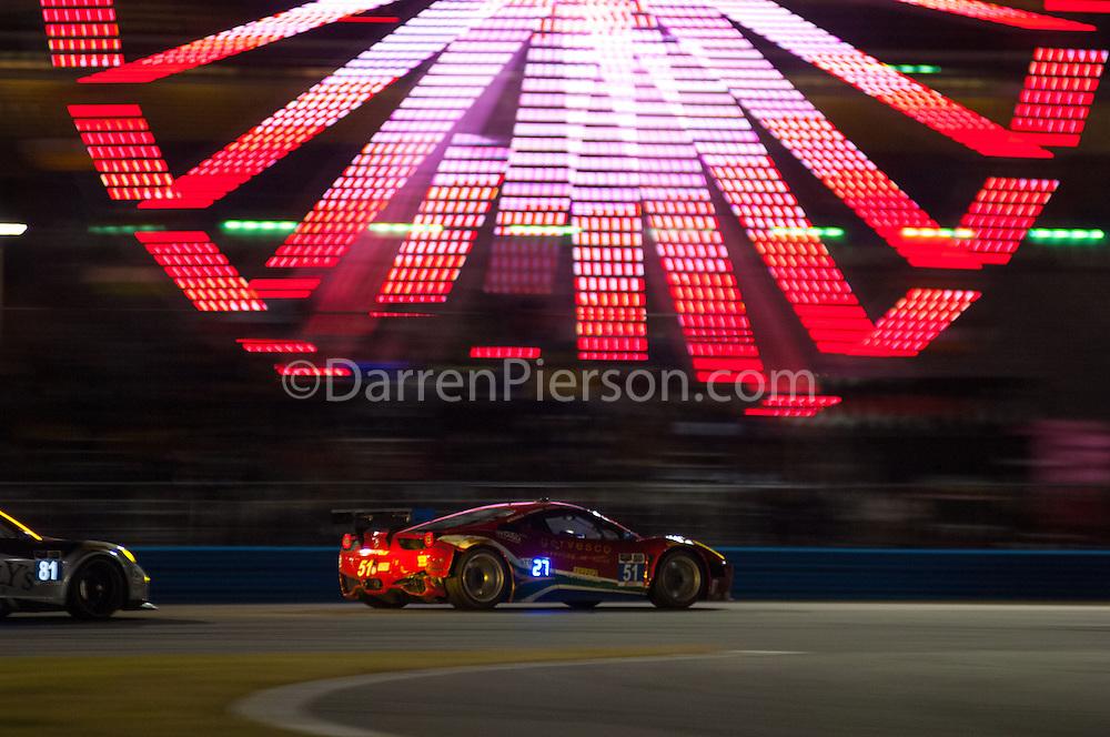 #51 Spirit of Race Ferrari 458 Italia: Matt Griffin, Marco Cioci, Michele Rugolo , Jack Gerber