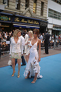 "Hofit Golan and Jasmine  Lennard. The UK Premiere of ""The Island"" at the Odeon Leicester Square, London. 7 August 2005. , ONE TIME USE ONLY - DO NOT ARCHIVE  © Copyright Photograph by Dafydd Jones 66 Stockwell Park Rd. London SW9 0DA Tel 020 7733 0108 www.dafjones.com"
