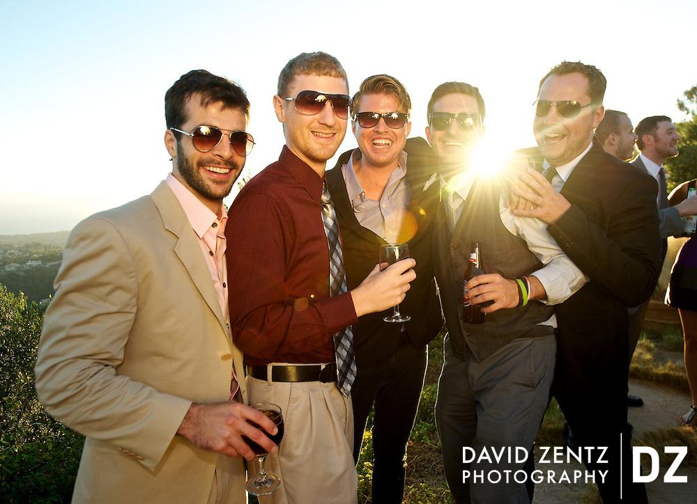 Party at Rancho del Cielo in Malibu, Calif.