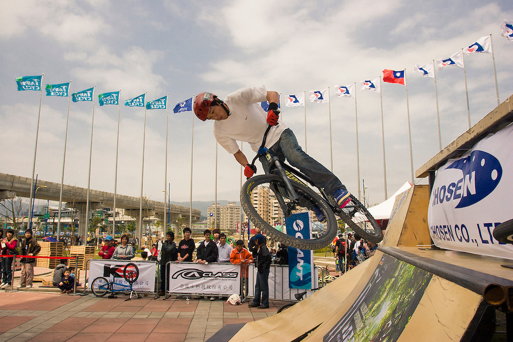 BMX X-Bike Stunt Demo at Taipei Cycle Show