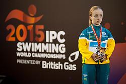 THOMAS KANE Tiffany AUS at 2015 IPC Swimming World Championships -  Women's 50m Butterfly S6