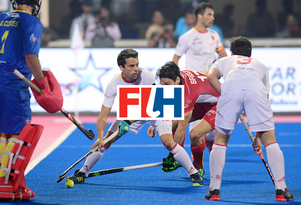 Odisha Men's Hockey World League Final Bhubaneswar 2017<br /> Match id:07<br /> Belgium v Spain<br /> Foto: Marc Salles (Esp) <br /> WORLDSPORTPICS COPYRIGHT FRANK UIJLENBROEK