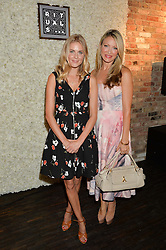 Left to right, DONNA AIR and CAPRICE BOURRET at the launch of the new Rituals store at 29 James Street, Covent Garden, London on 1st September 2016.
