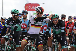 February 20, 2019 - Lagos, Portugal - LAGOS, PORTUGAL - FEBRUARY 20 : ACKERMANN Pascal (GER) of BORA - HANSGROHE pictured during stage 1 of 45th edition of the Volta Algarve cycling race, with start in Portimao and finish in Lagos on February 20, 2019 in Lagos, Portugal, 20/02/2019 (Credit Image: © Panoramic via ZUMA Press)