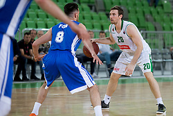 Mirch McCarron of KK Petrol Olimpija Ljubljana during basketball match between KK Petrol Olimpija and KK Rogaska in 1st Semifinal match of Liga Nova KBM 2017/18, on May 9, 2018, in Arena Stozice, Ljubljana, Slovenia. Photo by Urban Urbanc / Sportida