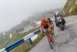 06.07.2016, Heiligenblut, AUT, Ö-Tour, Österreich Radrundfahrt, 4. Etappe, Rottenmann zur Edelweissspitze, im Bild Jan Hirt (CZE, CCC Sprandi Polkowice, Etappensieger und Glocknerkönig) // Jan Hirt (CZE CCC Polkowice Sprandi stage winner and Glocknerkönig) during the Tour of Austria, 4th Stage from Rottenmann to Edelweissspitze. Heiligenblut, Austria on 2016/07/06. EXPA Pictures © 2016, PhotoCredit: EXPA/ JFK