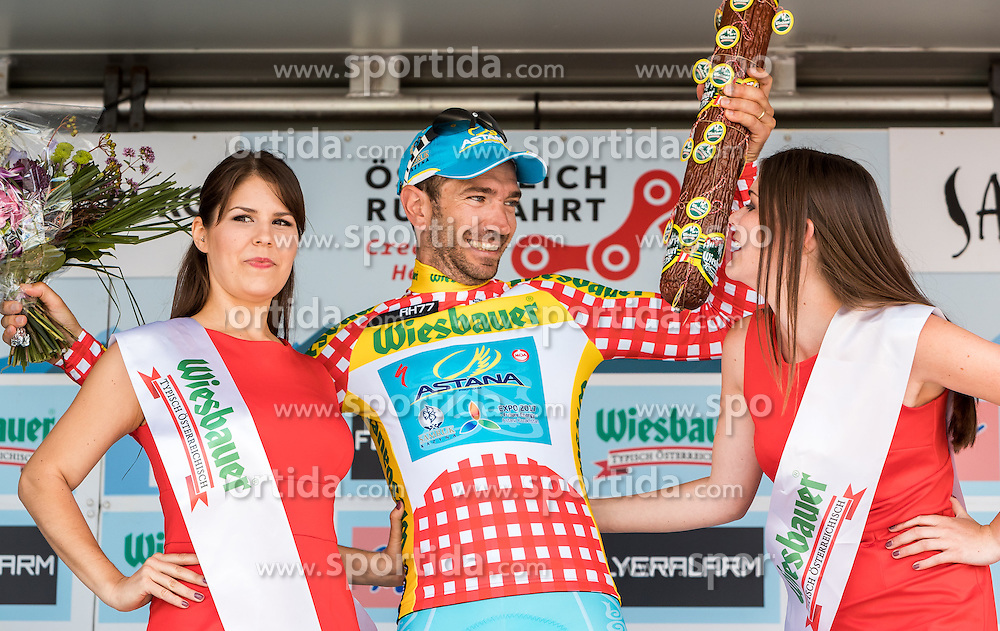 03.07.2016, XXX, AUT, Ö-Tour, Österreich Radrundfahrt, 1. Etappe, Innsbruck nach Salzburg, im Bild Alessandro Vanotti (ITA, Astana Pro Team) // Alessandro Vanotti (ITA, Astana Pro Team) during the Tour of Austria, 1st Stage from Innsbruck to Salzburg at XXX, Austria on 2016/07/03. EXPA Pictures © 2016, PhotoCredit: EXPA/ JFK