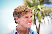 Actor Robert Redford attends the 'All Is Lost' Photocall during the 66th Annual Cannes Film Festival at the Palais des festivals on May 22, 2013 in Cannes, France