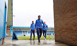 Ryan Tafazolli of Peterborough United arrives at Gillingham's Medway Priestfield Stadium - Mandatory by-line: Joe Dent/JMP - 22/09/2018 - FOOTBALL - Medway Priestfield Stadium - Gillingham, England - Gillingham v Peterborough United - Sky Bet League One