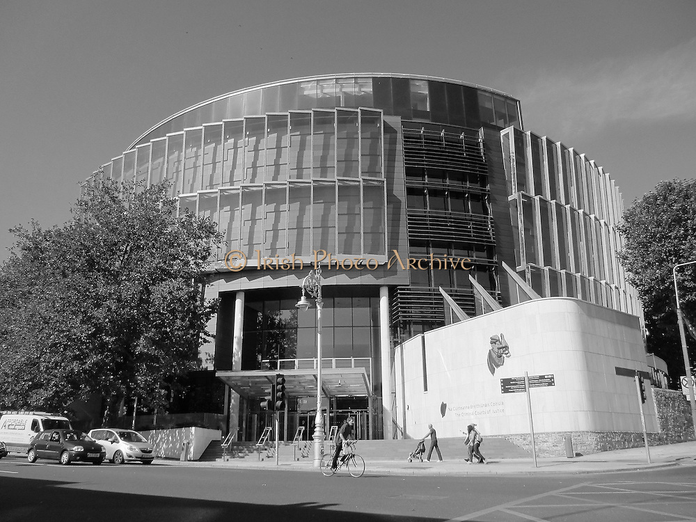 Criminal Courts of Justice, Parkgate Street, Dublin, 2010, former pound,