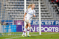 Ada Hegerberg (Olympique Lyonnais) missed to score the goal during the Women's French Championship D1 football match between Paris Saint Germain and Olympique Lyonnais on February 5, 2016 at Charlety stadium in Paris, France - Photo Stephane Allaman / DPPI