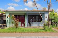House in Consolacion del Sur, Pinar del Rio Province, Cuba.