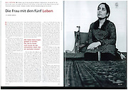 Text and photo feature of Afghan Parliamentarian Malalai Joya for Cicero Magazine.