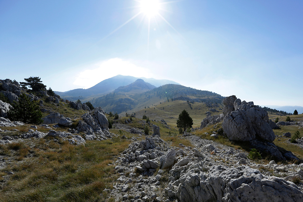 Dinara mountain, Croatia.