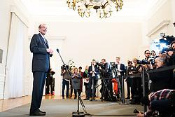 15.01.2020, Bundeskanzleramt, Wien, AUT, Sitzung des Ministerrats, im Bild Heinz Fassmann (OeVP)// cabinet meeting at the federal chancellery in Vienna, Austria on 2020/01/15. EXPA Pictures © 2020, PhotoCredit: EXPA/ Florian Schroetter
