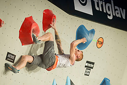 Gabriele Moroni (ITA) at Fnal of Climbing event - Triglav the Rock Ljubljana 2018, on May 19, 2018 in Congress Square, Ljubljana, Slovenia. Photo by Urban Urbanc / Sportida