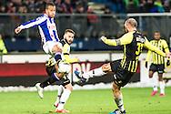 Voetbal Heerenveen Eredivisie 2014-2015 SC Heerenveen - Vitesse: (L-R) Luciano Slagveer (SC Heerenveen), Guram Kashia (Vitesse)