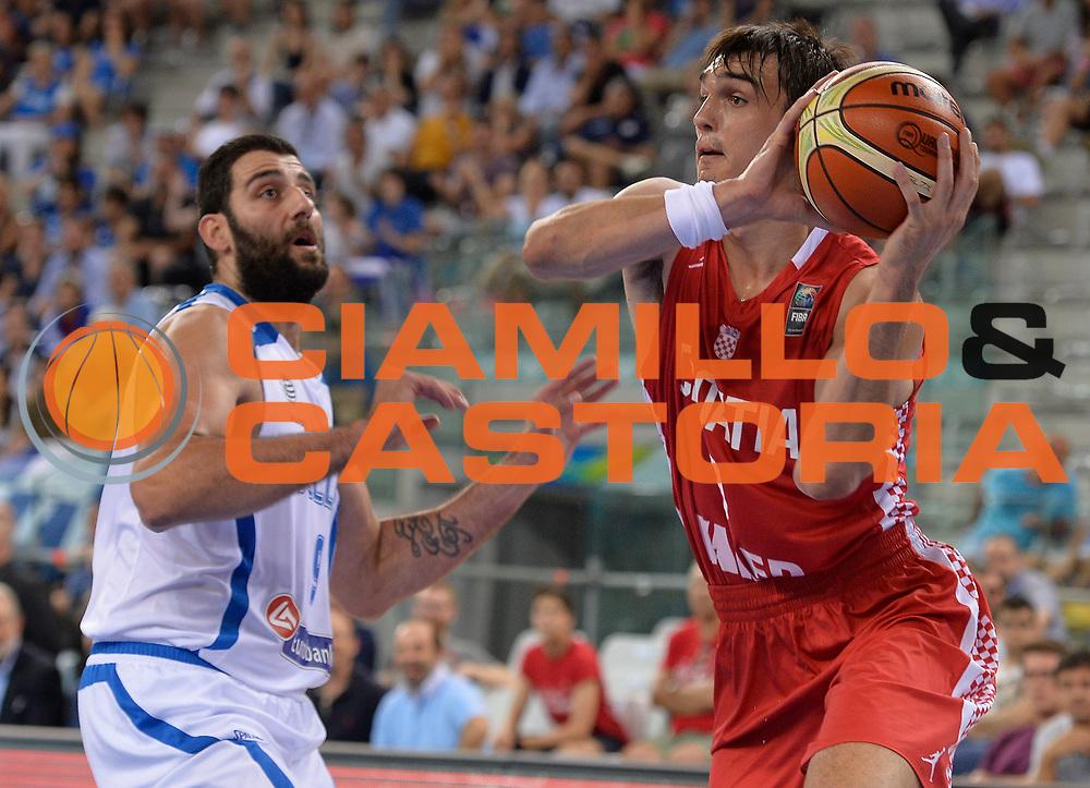 DESCRIZIONE: Torino FIBA Olympic Qualifying Tournament Grecia Croazia<br /> GIOCATORE: Saric Dario<br /> CATEGORIA: CROATIA CROAZIA<br /> GARA: FIBA Olympic Qualifying Tournament Grecia-Croazia<br /> DATA: 08/07/2016<br /> AUTORE: Agenzia Ciamillo-Castoria