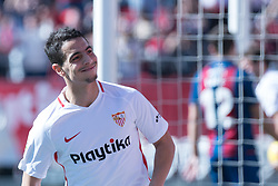 January 26, 2019 - Sevilla, Andalucia, Spain - Ben Yedder celebrate the 1st goal from Sevilla FC during the La Liga match between Sevilla FC v Levante UD at the Ramon Sanchez Pizjuan Stadium on January 26, 2019 in Sevilla, Spain  (Credit Image: © Javier MontañO/Pacific Press via ZUMA Wire)