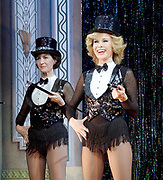 Stepping Out <br /> by Richard Harris <br /> at The Vaudeville Theatre, London, Great Britain <br /> press photocall <br /> 9th March 2017 <br /> <br /> Amanda Holden as Vera <br /> <br /> <br /> <br /> <br /> <br /> Photograph by Elliott Franks <br /> Image licensed to Elliott Franks Photography Services
