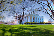 White House, Executive  home of the President of the United States, Nation's Capital, Washington DC, USA