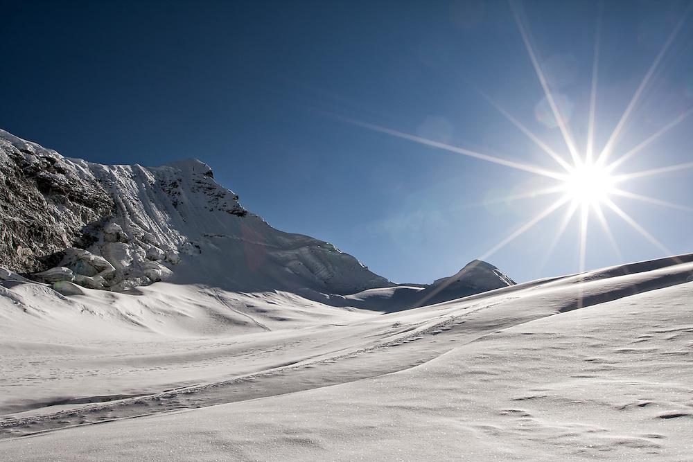 NEPAL. Everest Region, Island Peak. May 17th, 2012. Summit of Island Peak.